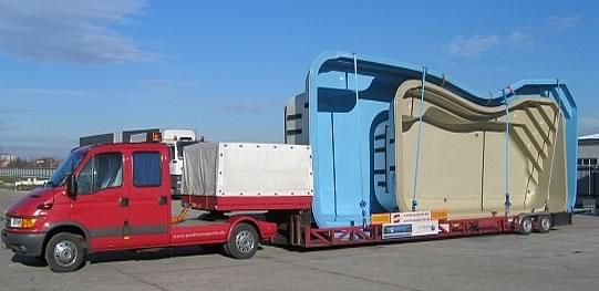 pool transporte